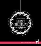 Guirlande de Noël Images stock