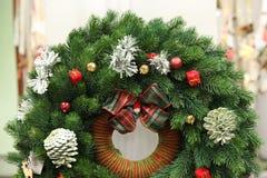Guirlande de Noël d'arbre Image stock