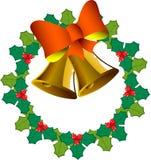 guirlande de Noël de cloches Photo libre de droits