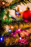 Guirlande de Noël sur la décoration de la nouvelle année images libres de droits