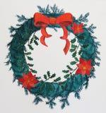 Guirlande de Noël Photo stock