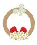 Guirlande de Pâques Image libre de droits