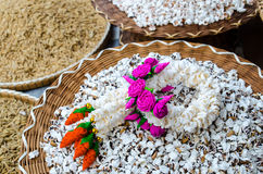 Guirlande de riz Images stock