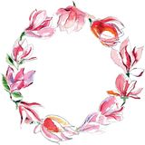 Guirlande des magnolias photos libres de droits
