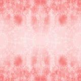 Guirlande des roses - composition décorative sur un fond d'aquarelle Configuration sans joint Photo stock