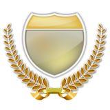 Guirlande et écran protecteur de laurier illustration de vecteur