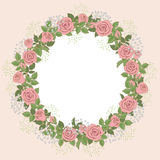 Guirlande florale Photographie stock