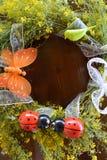 Guirlande florale Photos libres de droits