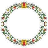 Guirlande florale décorative Photos libres de droits