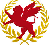 Guirlande héraldique Image libre de droits