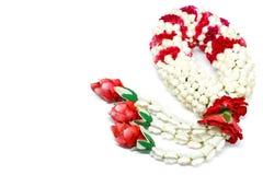 Guirlande intéressante de jasmin de Thaïlande Image stock