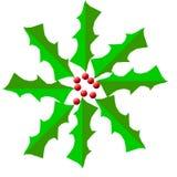 Guirlande sainte Digital de Noël Images stock