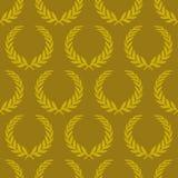 guirlande sans joint de papier peint de laurier Image stock