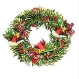 Guirlande tropicale de Noël photographie stock libre de droits