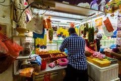 Guirlandes dans peu d'Inde Photographie stock