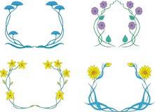Guirlandes de fleur Image stock