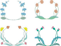 Guirlandes de fleur Image libre de droits