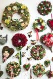 Guirlandes de Noël Image stock