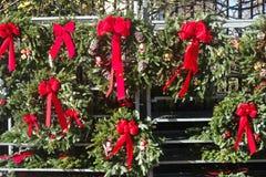 Guirlandes de Noël Photographie stock