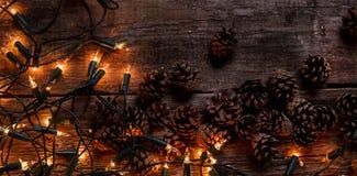 Guirnalda brillante Imagen de archivo libre de regalías