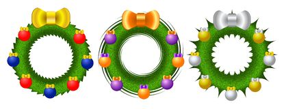 Guirnalda brillante de la Navidad Imagen de archivo libre de regalías