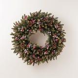 Guirnalda de Advent Christmas Fotografía de archivo libre de regalías