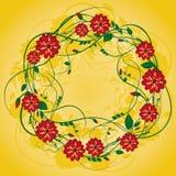 Guirnalda de flores Foto de archivo libre de regalías
