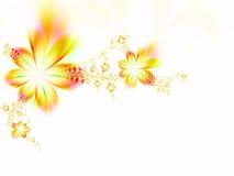 Guirnalda de flores Imágenes de archivo libres de regalías