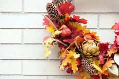 Guirnalda de la acción de gracias Imagen de archivo libre de regalías