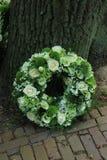Guirnalda de la condolencia Foto de archivo libre de regalías