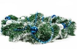 Guirnalda de la decoración del Año Nuevo Fotografía de archivo libre de regalías