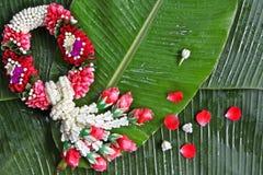 Guirnalda de la flor Foto de archivo