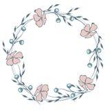 Guirnalda de la flor salvaje Fotos de archivo libres de regalías