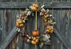 Guirnalda de la generosidad del otoño Foto de archivo libre de regalías