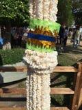 Guirnalda de la guirnalda del arroz Foto de archivo libre de regalías