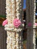 Guirnalda de la guirnalda del arroz Imágenes de archivo libres de regalías
