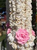 Guirnalda de la guirnalda del arroz Fotografía de archivo libre de regalías