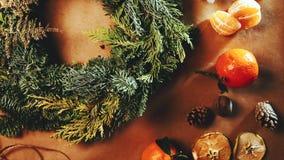 Guirnalda de la Navidad metrajes