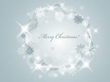 Guirnalda de la Navidad stock de ilustración