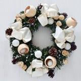 Guirnalda de la Navidad Imágenes de archivo libres de regalías