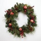Guirnalda de la Navidad. Fotografía de archivo libre de regalías