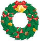 Guirnalda de la Navidad Imagenes de archivo