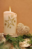 Guirnalda de la Navidad Imagen de archivo libre de regalías