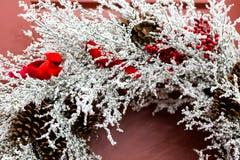 Guirnalda de la Navidad Fotos de archivo libres de regalías