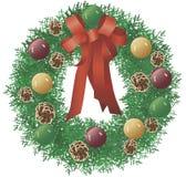 Guirnalda de la Navidad ilustración del vector