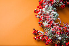 Guirnalda de la Navidad Imagen de archivo