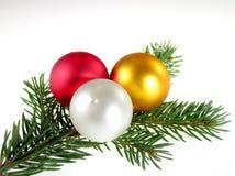 Guirnalda de la Navidad Fotografía de archivo libre de regalías