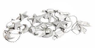 Guirnalda de la Navidad con las estrellas y las lunas de los candys Fotos de archivo libres de regalías