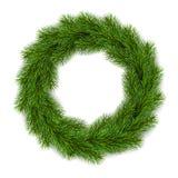 Guirnalda de la Navidad del vector Foto de archivo libre de regalías