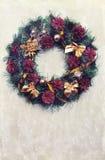 Guirnalda de la Navidad del vintage Fotografía de archivo libre de regalías